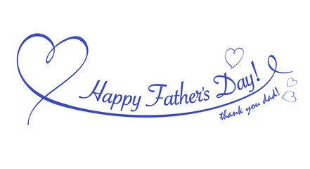 Father's Day Heart's line