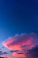 beautiful clouds sunset sky
