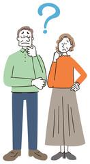高齢者 シニア 老夫婦 悩み