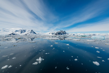 antarctic waterscape