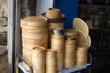 Paniers pour cuisson vapeur cuisine asiatique