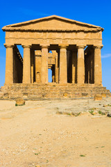 Abstract and conceptual of ancient Greece in Agrigento.