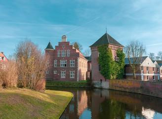 Nebengebäude vom Wasserschloss in Gemen.