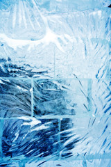 Ice Wall Closeup