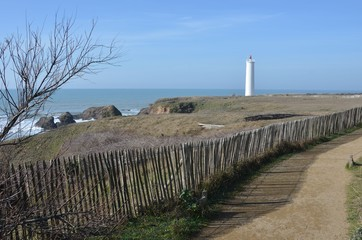 Phare de St-Hilaire de Riez, Vendée, France