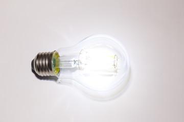 Glowing decorative led light bulb