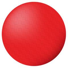 Red Kickball Dodgeball Ball Vector Illustration Icon Symbol Graphic