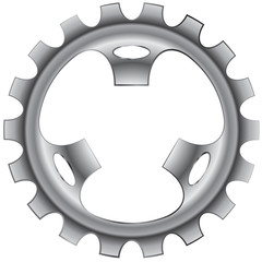 Bicycle Gear Vector Illustration Icon Symbol Graphic