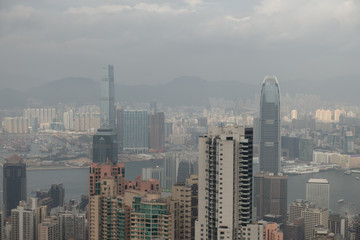 Hong Kong cityscape from Victoria Peak