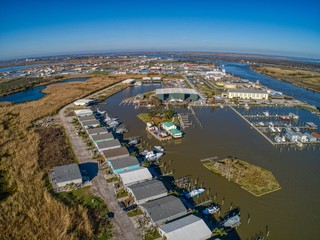 Venice is a Port Community on the Mouth of the Mississippi River in far south Louisiana