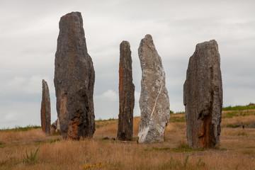 Ménhirs et mégalithes - site mégalithique de Saint Just