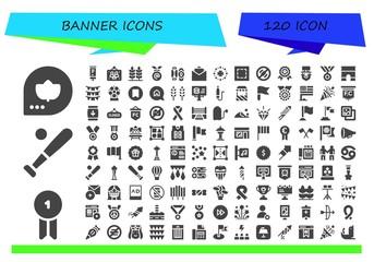 banner icon set