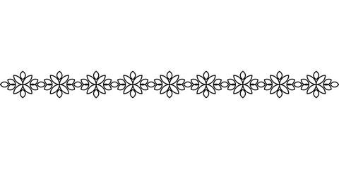 Hand drawn text ornaments illustration