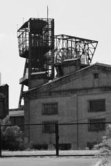 Fototapeta Zamknięta kopalnia węgla kamiennego w Katowicach obraz