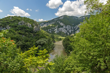 Amazing Landscape of Iskar River Gorge, Balkan Mountains, Bulgaria