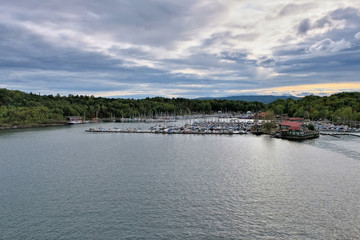 Oslofjord during a summer day