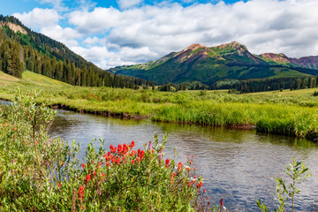Fly fishing paradise in the Colorado Rocky Mountains