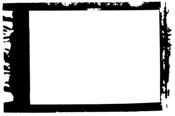 Film Decorative Black and White Photo Frame