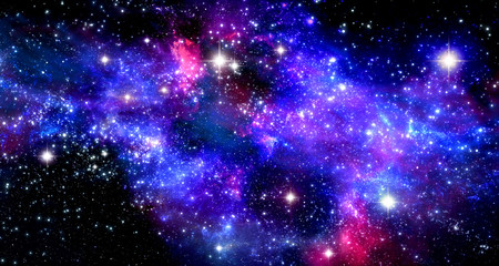 Poster Universe Space nebula