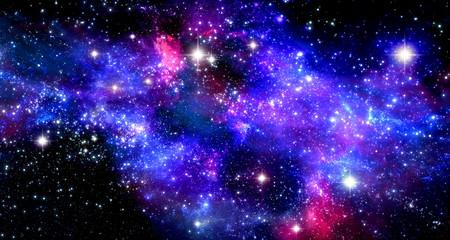 Canvas Prints Universe Space nebula