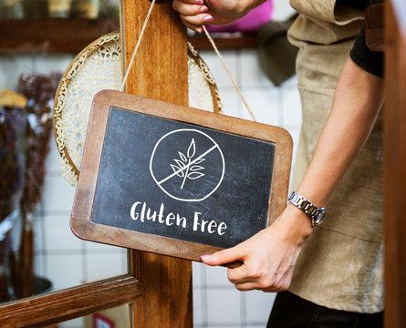 Gluten Free Healthy Lifestyle Concept