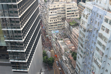 city view of Hennessy Road  CWB to Wan Chai