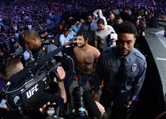 MMA: UFC Fight Night-Phoenix- Caceres vs Gracie