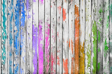 Сolorful wooden background