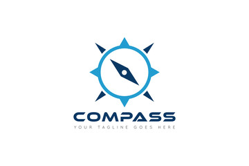 compass logo and icon vector illustration design template