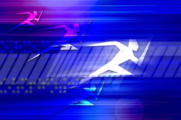 ハイスピード ランニング スタイル イメージ