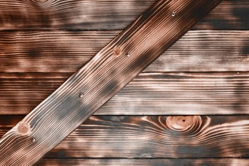 red striped and encaustic weathered creative pine door texture - cute abstract photo background