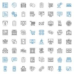 online icons set