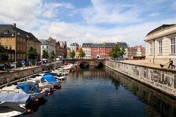 Spoed Fotobehang Scandinavië Denmark Copenhagen