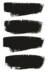 Paint Brush Medium Background High Detail Abstract Vector Background Set 148