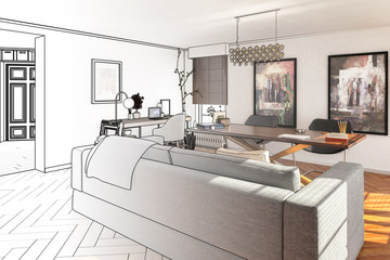 Private Office Area (drawing)