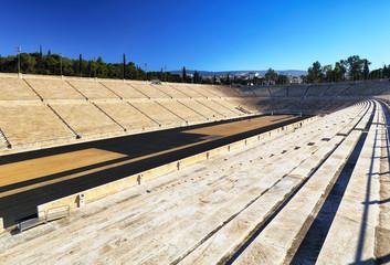 Panathenaic Stadium - Kallimarmaro is a multi purpose stadium in Athens, Greece