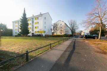 Wohngegend in Mainz