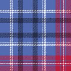 Tartan seamless pattern check fabric texture