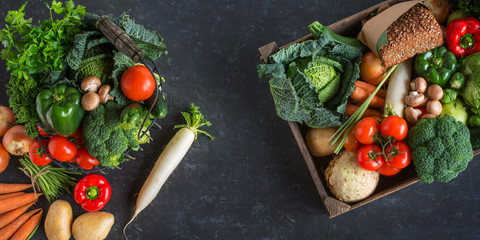 Vegetables for a healthy lifestyle