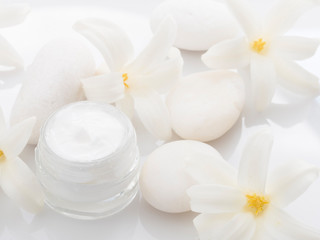 beauty product, fresh as spring flower concept