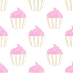 Cupcake big pattern