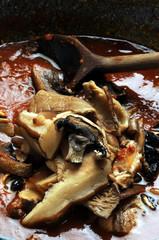 Sugo ai funghi ft6110_0720 蘑菇酱 sauce aux champignons mushroom sauce  Pilzsauce