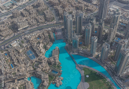 Dubai, United Arab Emirates - the Burj Khalifa is the
