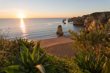Portugal, Algarve, Lagos, Praia Dona Ana