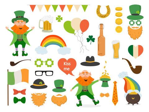 Saint Patrick's Day concept.