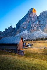 Fototapete - Passo delle Erbe, South Tyrol, Italy