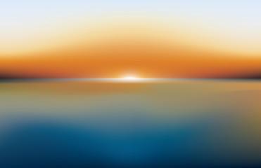 sea lanscape sunset