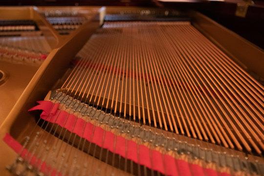 piano harp