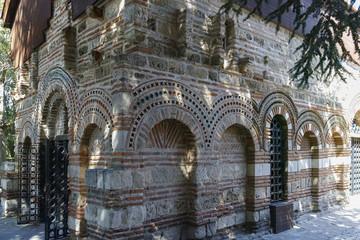 Ruins of Ancient Church of Saint Paraskeva in the town of Nessebar, Burgas Region, Bulgaria
