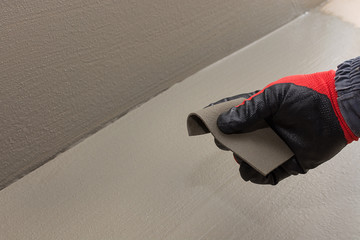 high elasticity of waterproofing materials on a cement basis